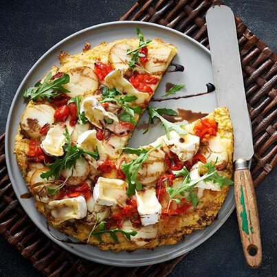 BrieΓÇôcauliflower-base-with-Piquante-Peppers-Pizza--403x403