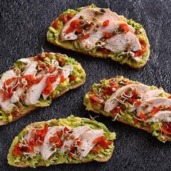 Open-chicken-and-avo-with-Piquante-Peppers-Sandwich-240x240